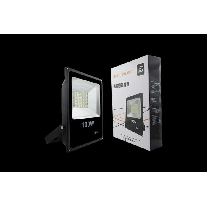 1Прожектор светодиодный 5630 6500К Холодный белыйK FL-SMD-100-CW