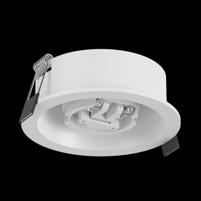 1Крепление сменное М7 для светильников MINI VILLY, поворотное встраиваемое углубленное, цвет белый