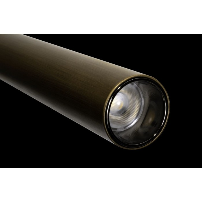 2Подвесной трековый светильник SY 7W Латунь 4000К SY-601243-BR-7-36-NW