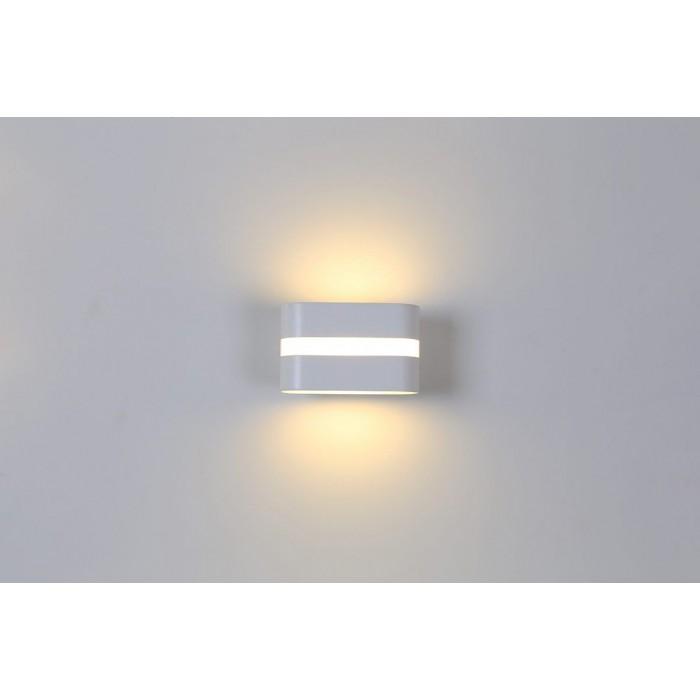 1Бра декоративное RAZOR LN, белый, 6Вт, 3000K, IP20, GW-1557-6-WH-WW