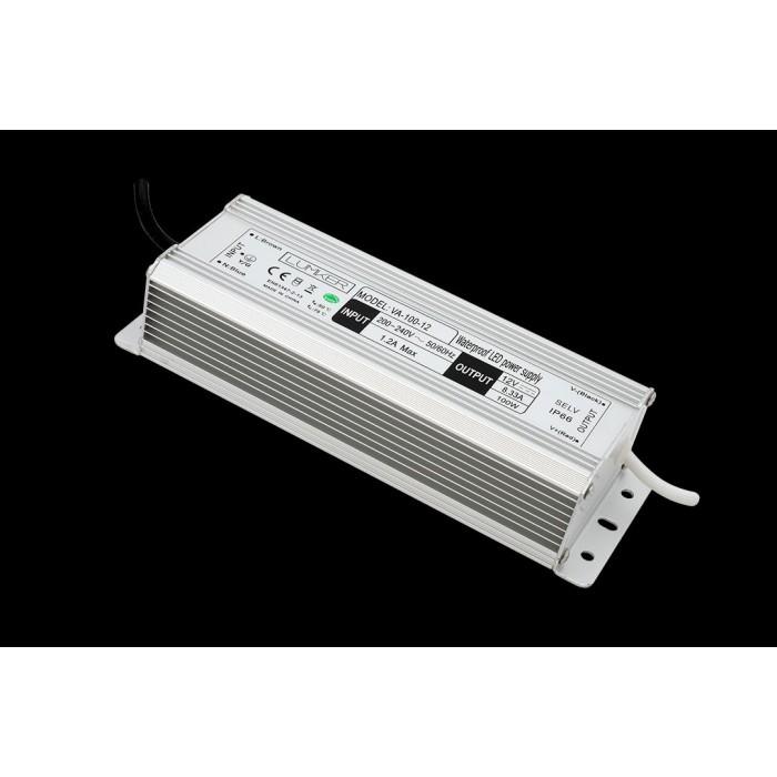 2Блок питания для светодиодной ленты LUX влагозащищенный, 12В, 100Вт, IP67