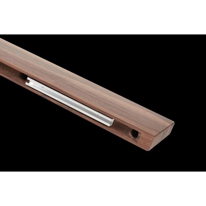 2Светильник из массива (орех амерканский) длина 1200мм высота не менее 140мм 3000К, 12Вт