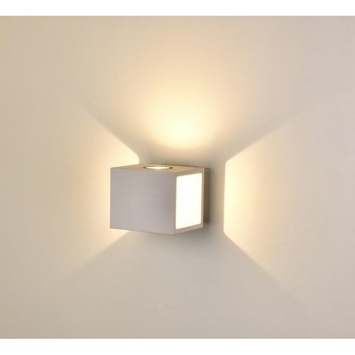 1Настенный светильник KUB, белый, 10Вт, 3000K, IP54, LWA0100A-WH-WW