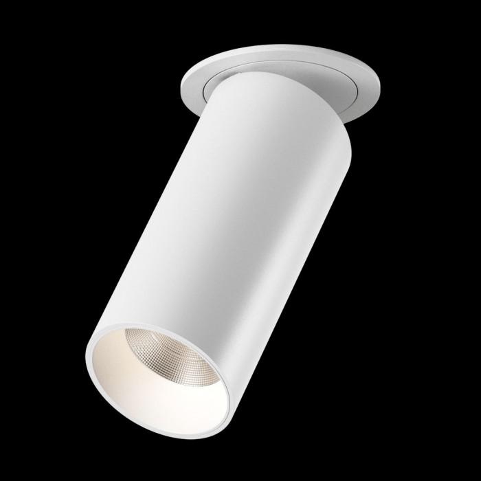 2Светильник светодиодный потолочный встраиваемый поворотный, серия DL-UM9, белый, 13Вт, IP20, Нейтральный белый (4000К)