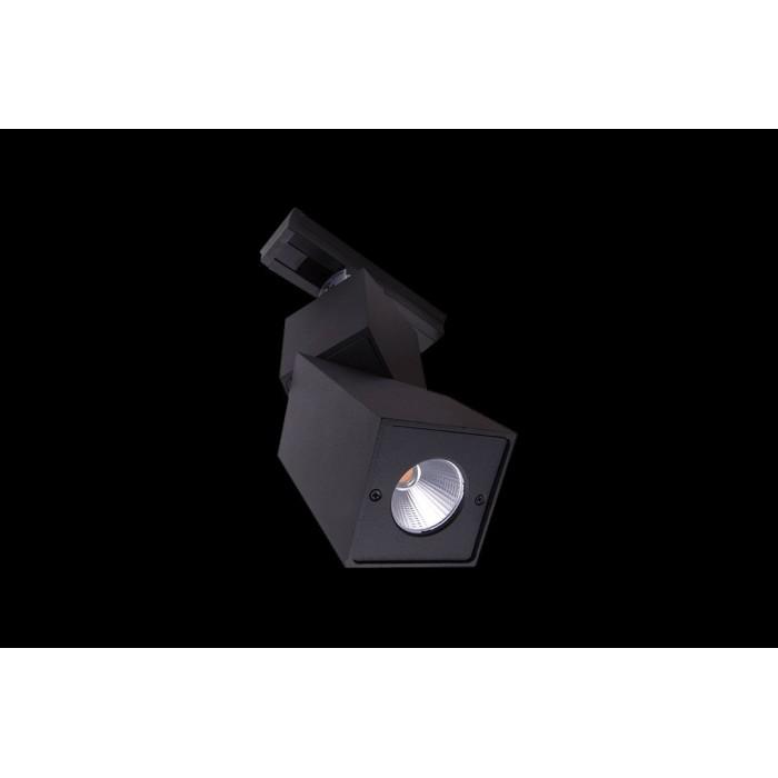 2Трековый LED светильник квадратный черный 3000К LDT-SQBL-10W-WW (LD-3023)