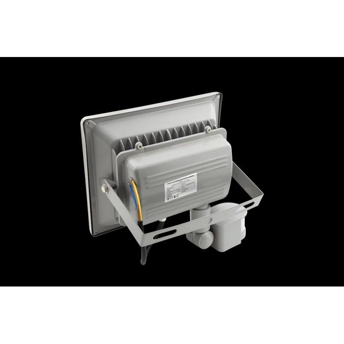 2Прожектор светодиодный с датчиком движения 6500К Холодный белыйK FL-COB-30-CW-S
