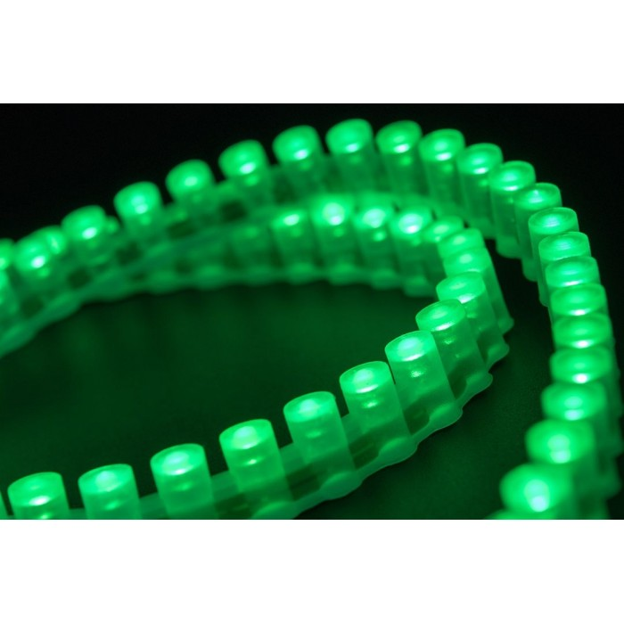 2Лента светодиодная DIP 5мм, 96 LED/м, 7,7 Вт/м, 12В, IP68, Цвет: Зеленый, 970мм