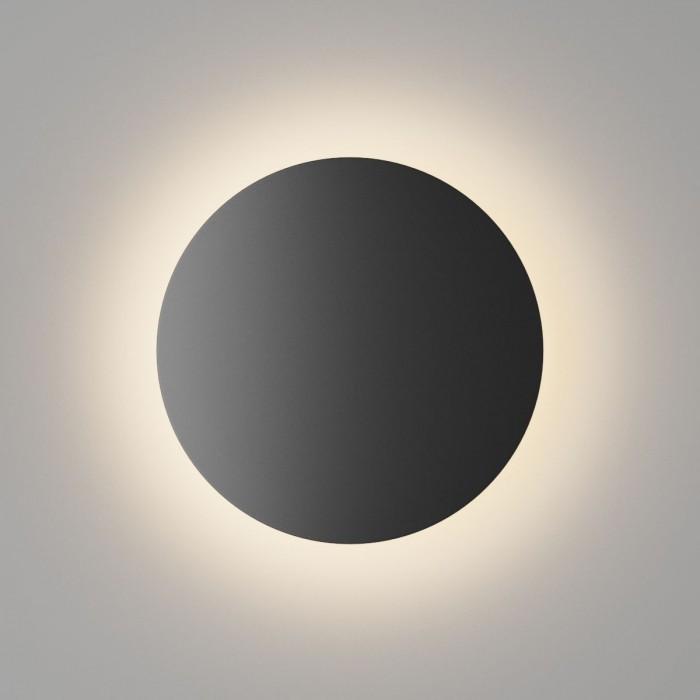 1Настенный светильник CIRCUS, черный, 9Вт, 3000K, IP54, GW-8663L-9-BL-WW