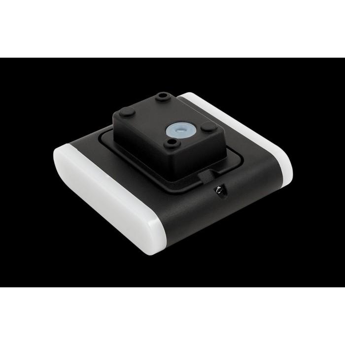 2Настенный светильник BRAVO, черный, 6Вт, 3000K, IP54, GW-6080S-6-BL-WW
