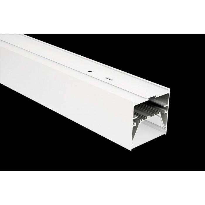 2Подвеснойвстраиваемый/накладной алюминиевый профиль L9086, белый
