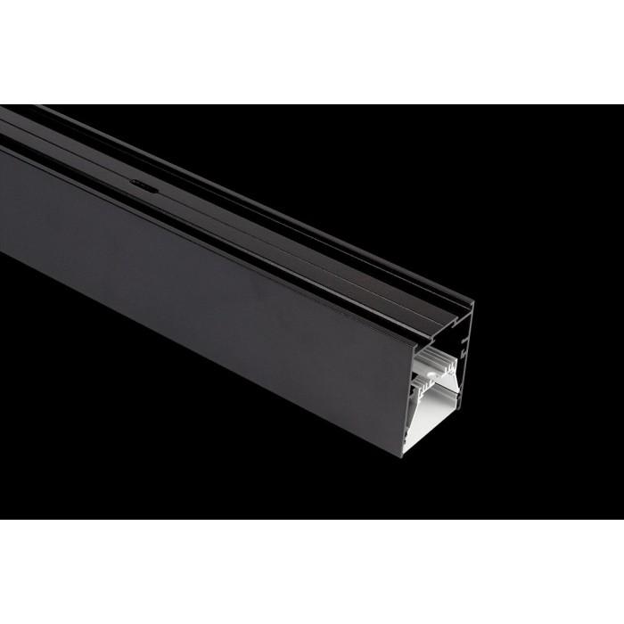 2Подвесной/встраиваемый/накладной алюминиевый профиль L5570, черный