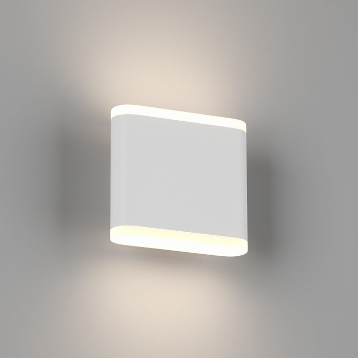 1Настенный светильник BRAVO, белый, 6Вт, 4000K, IP54, GW-6080S-6-WH-NW
