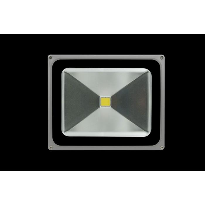 2Прожектор светодиодный с датчиком движения 6500К Холодный белыйK FL-COB-50-CW-S