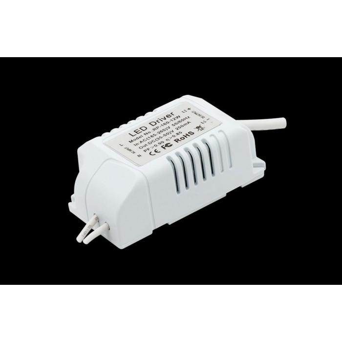 2Светильник светодиодный потолочный встраиваемый P, Белый, Сталь/Стекло, Нейтральный белый (4000-4500K), 12Вт, IP20