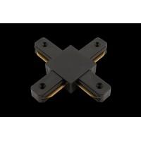 x коннектор для однофазных трековыx систем, Черный