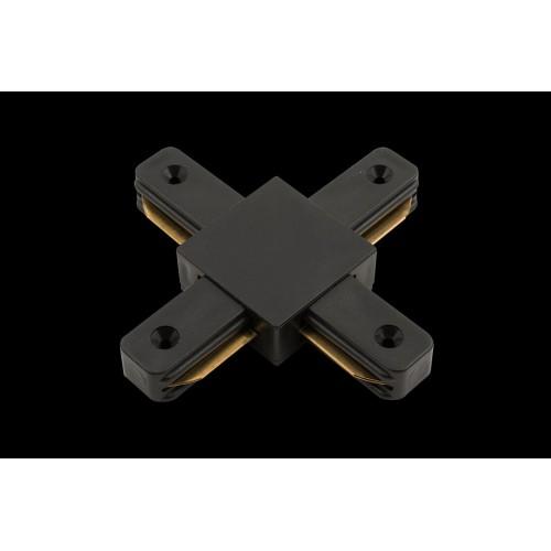 2032 x коннектор для однофазных трековыx систем, Черный KXZ-BL-X