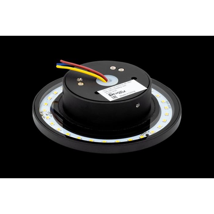 2Настенный светильник CIRCUS-2, черный, 6Вт, 3000K, IP65, LWA0137A-BL-WW
