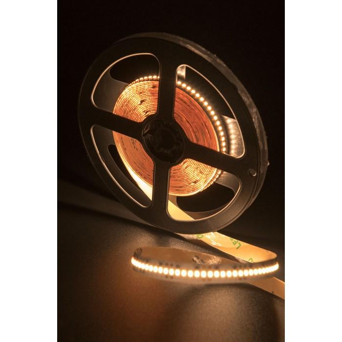 2Лента светодиодная стандарт 2216, 300 LED/м, 19,4 Вт/м, 24В, IP20, Цвет: Теплый белый