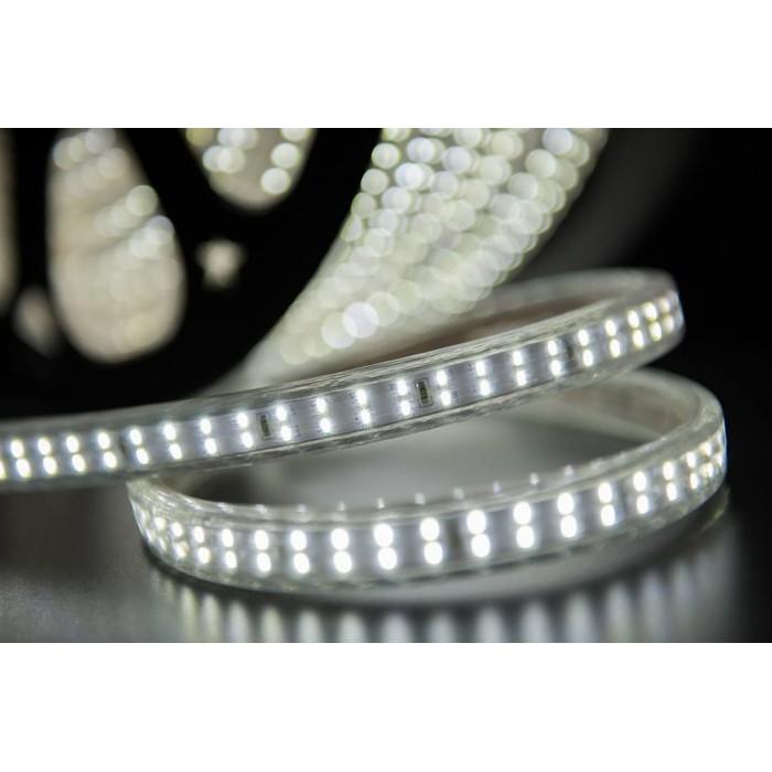 2Лента светодиодная 220, SMD3014, 240LED/м, кат 50м, 20 Вт/м, IP68, Холодный белый (6000-6500К Холодный белыйK)