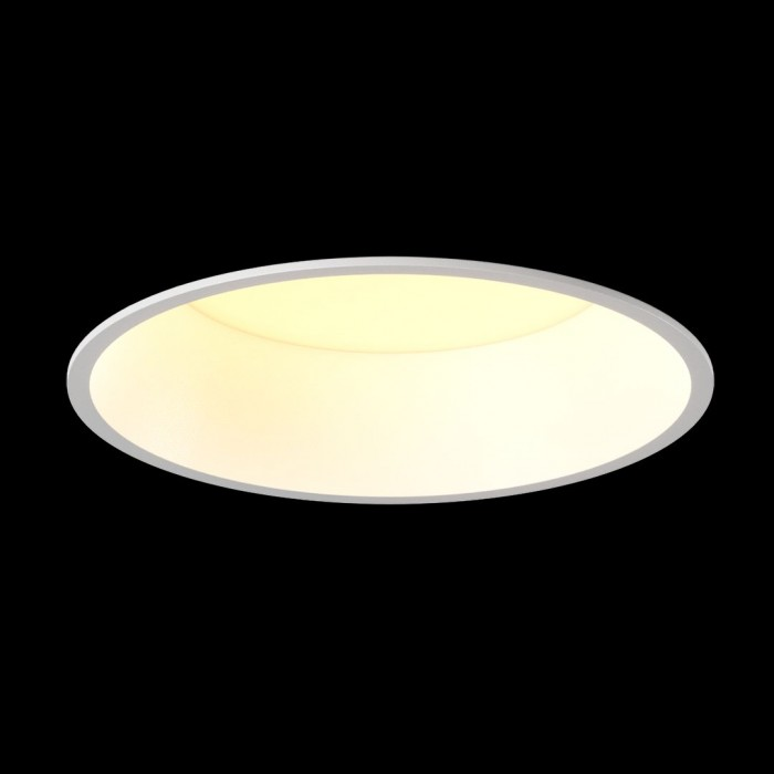 2Светильник светодиодный диммируемый потолочный встраиваемый, серия WL-BQ, белый, 9Вт, IP20, Теплый белый (3000К)