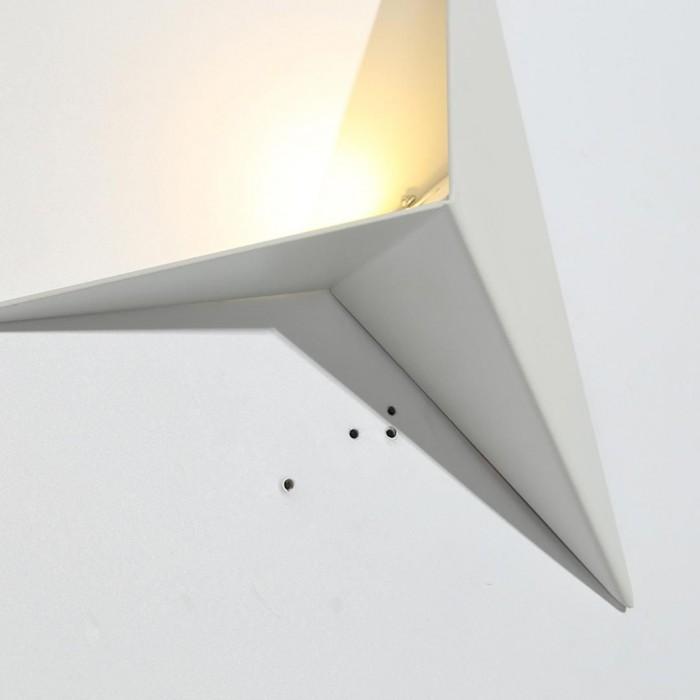 2Бра декоративное TRIK, белый, 3Вт, 3000K, IP20, GW-9103-3-WH-WW