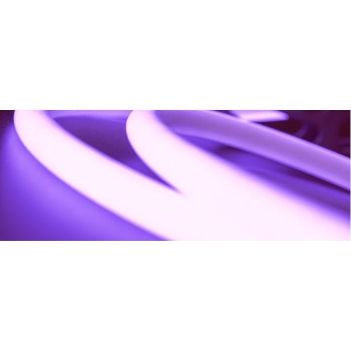 1Термолента светодиодная SMD 4040, 120 LED/м, 14 Вт/м, 24В, IP68, Цвет: RGB