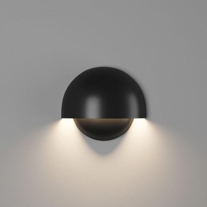1Настенный светильник MUSHROOM, матовый черный, 10Вт, 4000K, IP54, GW-A818-10-BL-NW