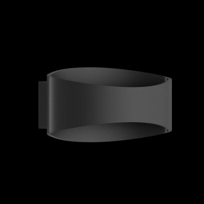 2Бра декоративное OLE, черный, 5Вт, 3000K, IP20, GW-A715-5-BL-WW