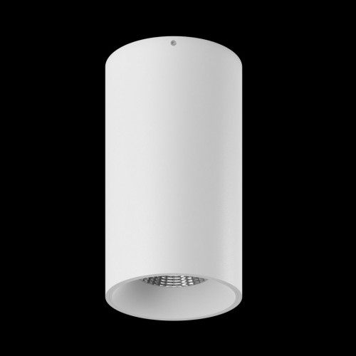 Светильник VILLY SHORT укороченный, потолочный накладной, 15Вт, 3000K, белый