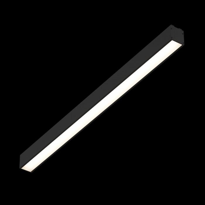 2Трековый светильник SY 24W черный 3000К SY-601212-BL-24-WW
