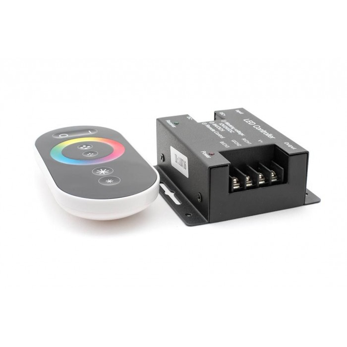 2Led controller touch DELUCE 24А, 12/24 Вольт, RF-RGB-S-24A