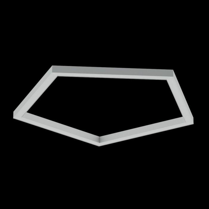 2Светильники из профиля PEN-Type-5050-05-65-NW: Профиль LS 5050, Лента 4x DSG 2835 WW 280L-V24-IP33, 700LED, 26W/m, LUX, подвесы. Без блока питания.