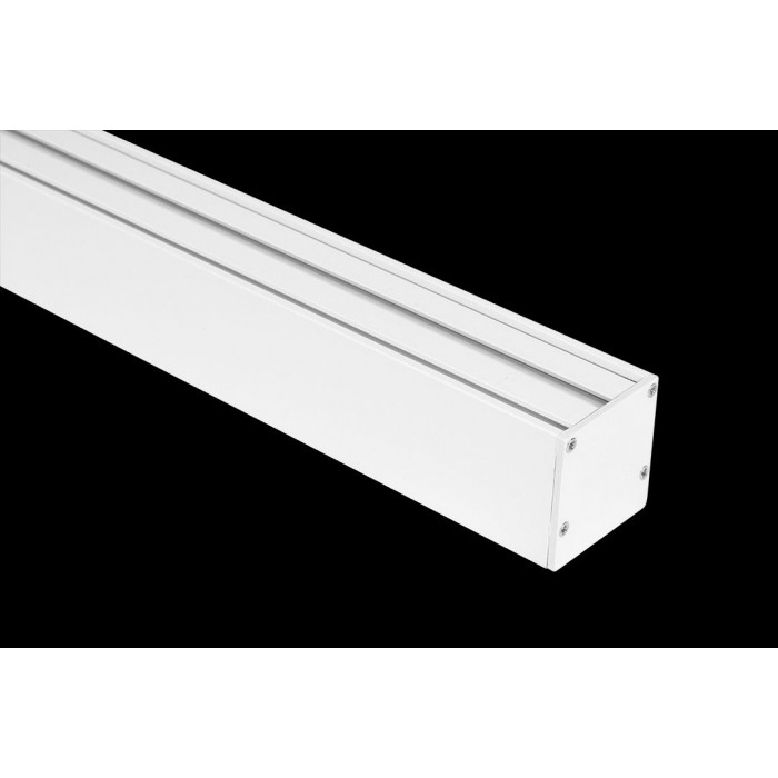 2Подвесной/накладной алюминиевый профиль LS.3535, белый