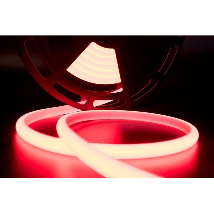2Термолента светодиодная SMD 2835, 180 LED/м, 12 Вт/м, 24В, IP68, Цвет: Красный