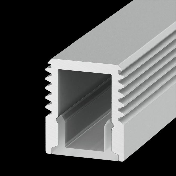 1Накладной алюминиевый профиль LS.0709 для 5мм ленты