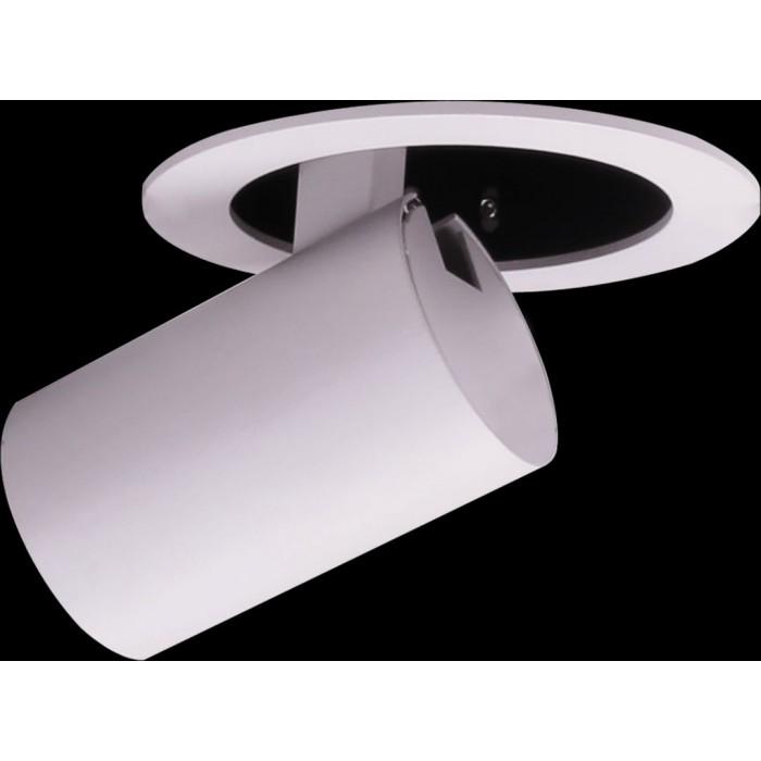 2Светильник светодиодный потолочный встраиваемый поворотно-выдвижной, серия DL-UM9, белый, 7Вт, IP20, Теплый белый (3000К)