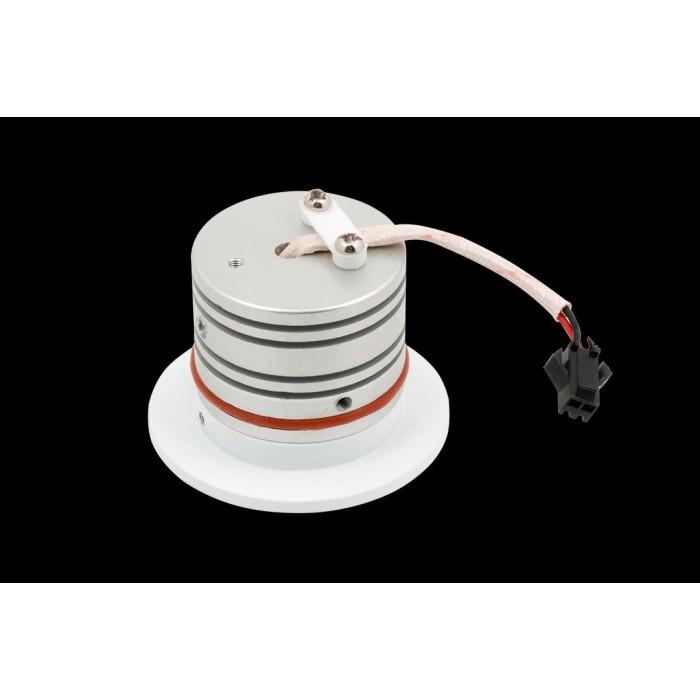 2Бра встраиваемое для подсветки лестницы/пола TIK, белый, 3Вт, 3000K, IP20, GW-R712-3-WH-WW