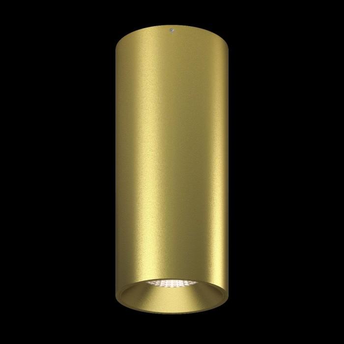 1Светильник VILLY, потолочный накладной, 15Вт, 3000K, золотой 1