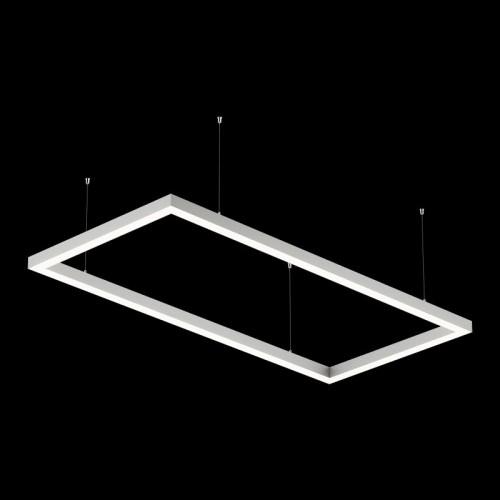 Светильники из профиля O-Type-5050-1708-130-WW: Профиль LS 5050, Лента 4x DSG 2835 WW 280L-V24-IP33, 700LED, 26W/m, LUX, подвесы. Без блока питания.