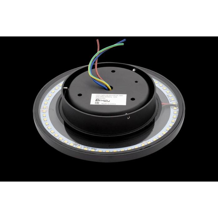2Настенный светильник CIRCUS-2, черный, 12Вт, 3000K, IP65, LWA0137B-BL-WW