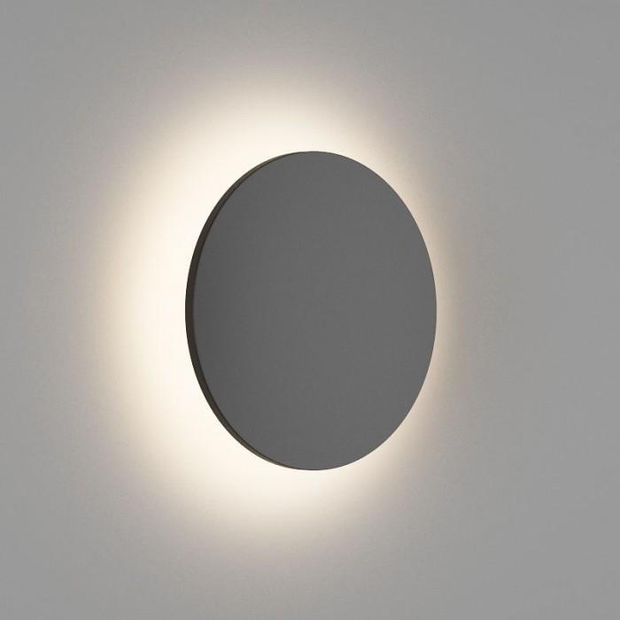 2Настенный светильник CIRCUS, матовый черный, 12Вт, 3000K, IP54, GW-8663S-12-BL-WW