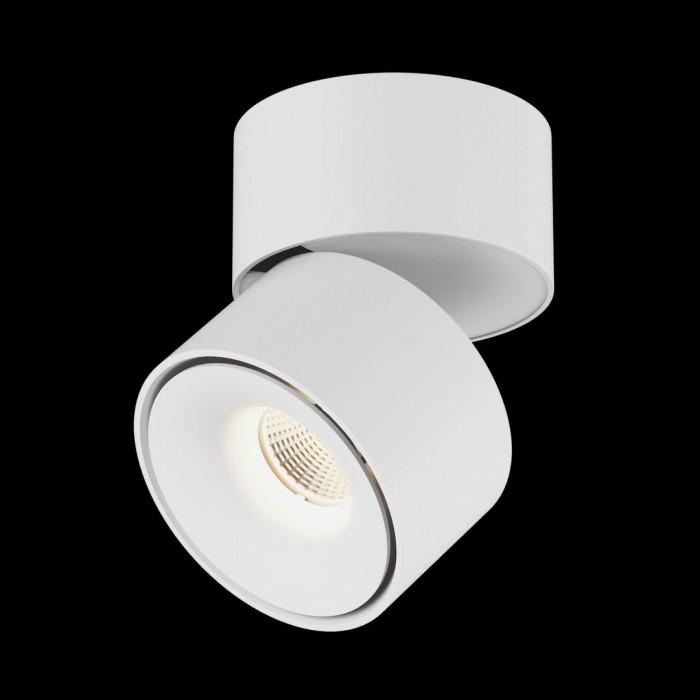 2Светильник светодиодный потолочный накладной поворотный, серия LK, Белый, 15Вт, IP20, Теплый белый (3000К)