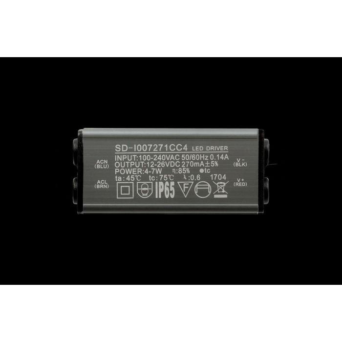 2Настенный светильник BRAVO, черный, 6Вт, 4000K, IP54, GW-6080S-6-BL-NW