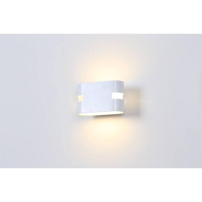 2Бра декоративное RAZOR HR, белый, 6Вт, 3000K, IP20, GW-1556-6-WH-WW