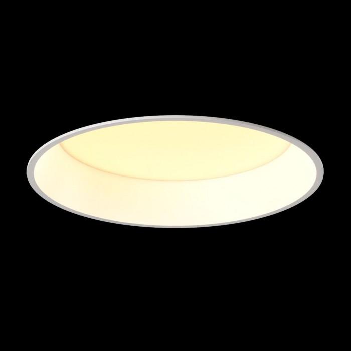 2Светильник светодиодный диммируемый потолочный встраиваемый, серия WL-BQ, белый, 20Вт, IP20, Теплый белый (3000К)
