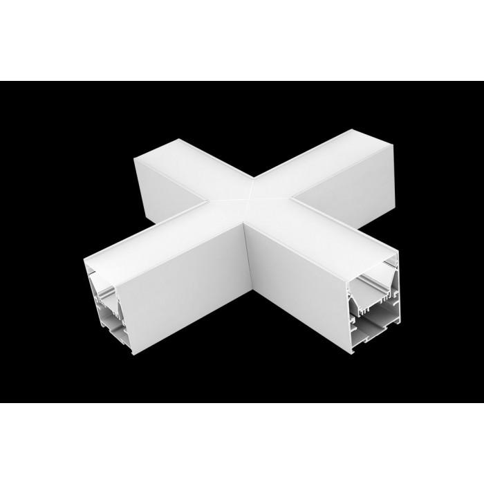 1Угловой X-образный коннектор L5570-X90 для профиля L5570