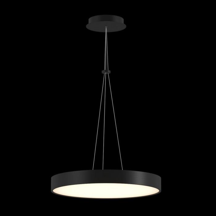 1LED светильник потолочный P0169-600A-BL-WW черный 76Вт 3000