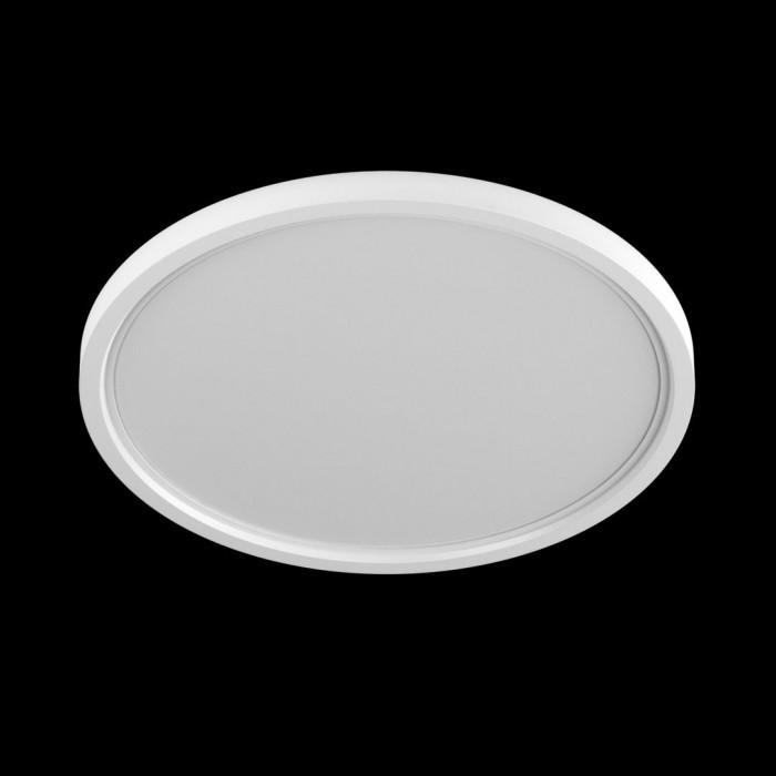 1Светильник KH-RC-R225-24-NW потолочный светодиодный встраиваемый ультратонкий, серия KH-RC, белый, 24Вт, IP20, Нейтральный белый (4000К)