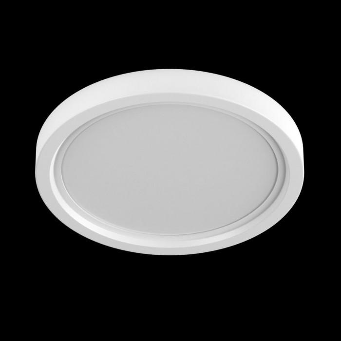 1Светильник KH-RC-R120-9-NW потолочный светодиодный встраиваемый ультратонкий, серия KH-RC, белый, 9Вт, IP20, Нейтральный белый (4000К)