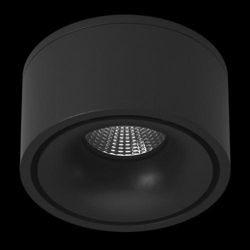 Светильник светодиодный потолочный встраиваемый поворотный, серия MJ-1001, черный, 13Вт, IP20, Теплый белый (3000К) 002969 DesignLed